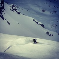 Riding in the Pemberton Backcountry