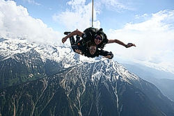 Sky Diving in Pemberton