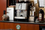 Coffee Bar in Lobby Serving Starbucks