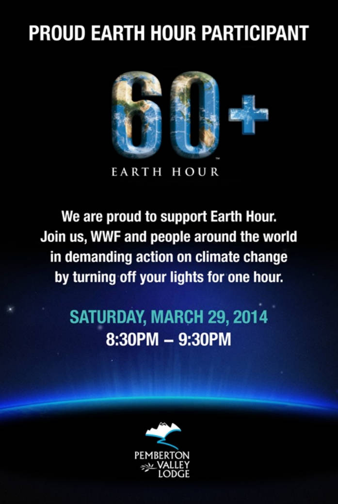 Earth Hour Poster 2014