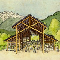 Help us Celebrate the Raising on the New Community Barn