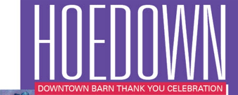 Hoe Down Banner