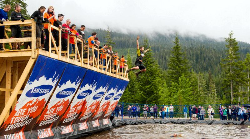 Tough Mudder Whistler Water Pool