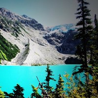 Hike to Joffre Lake Near Pemberton BC