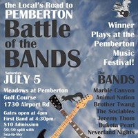 2014 'Battle of the Bands' at Pemberton Meadows