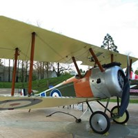 Sopwith Camel on Display at the Legion