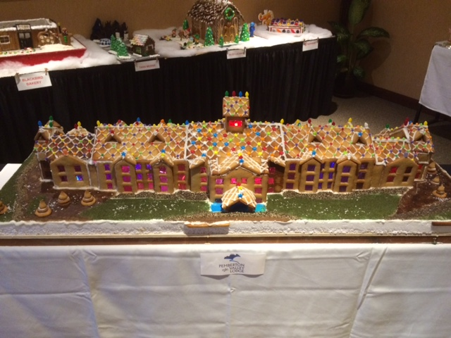 Pemberton Valley Lodge Gingerbread Version