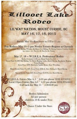 Lillooet Lake Rodeo