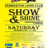 Join us for the 2011 Pemberton Show & Shine