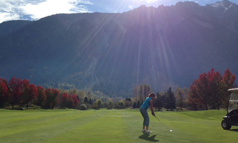 Big Sky Golf Fall Time