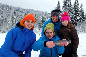 Pemberton Ice Fishing Packages