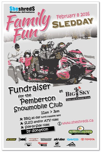 Pemberton Snowmobile Family Fun