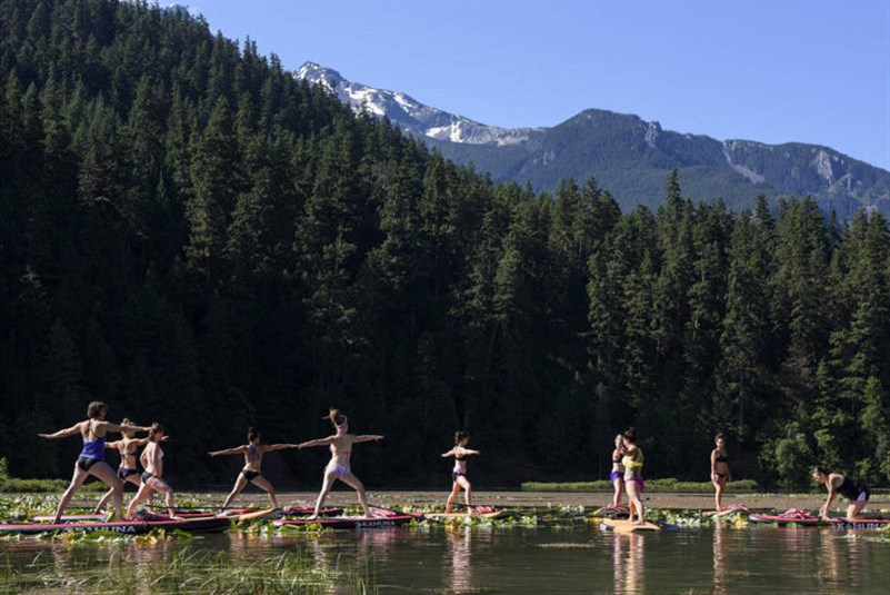 One Mile Lake Yoga