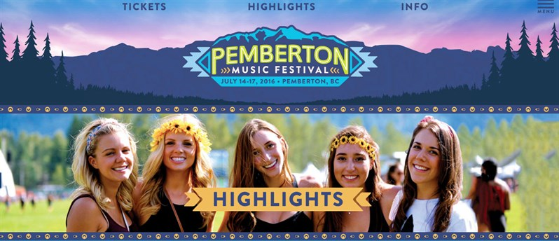 Pemberton -Music -Festival -Highlights -2016