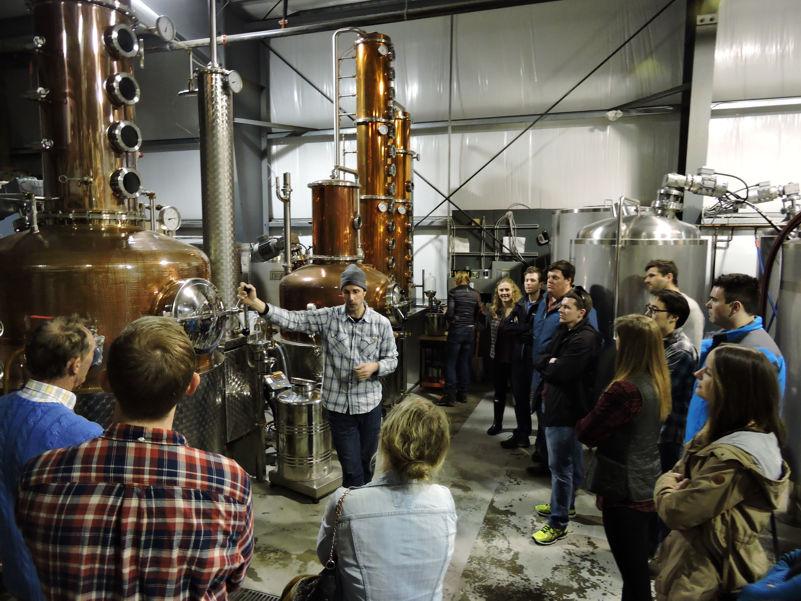 Pemberton Distillery Tour