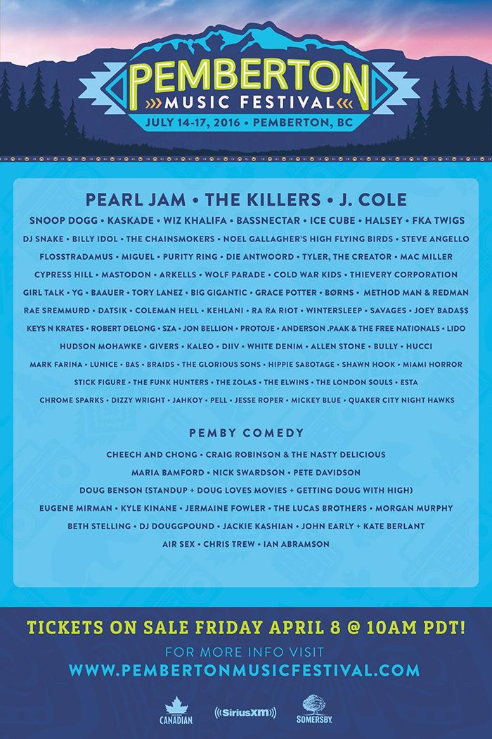 Pemberton -Music -Festival -Line -Up -compressor