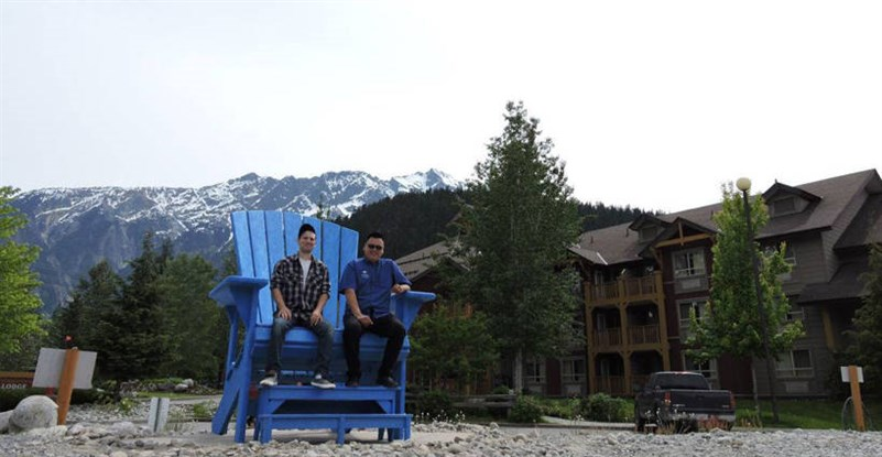 PVL Big Blue Chair