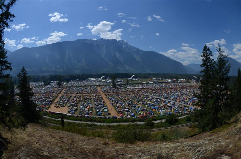 Pemberton Music Festival Grounds