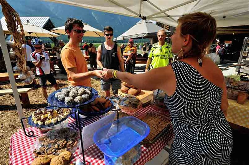 Slow Food Cycle Sunday Vendor Booth