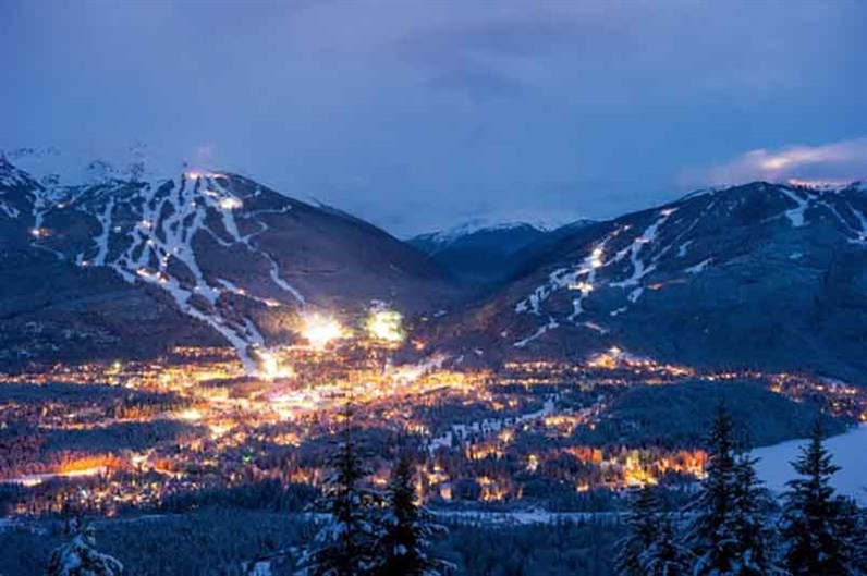 Whistler Village Night