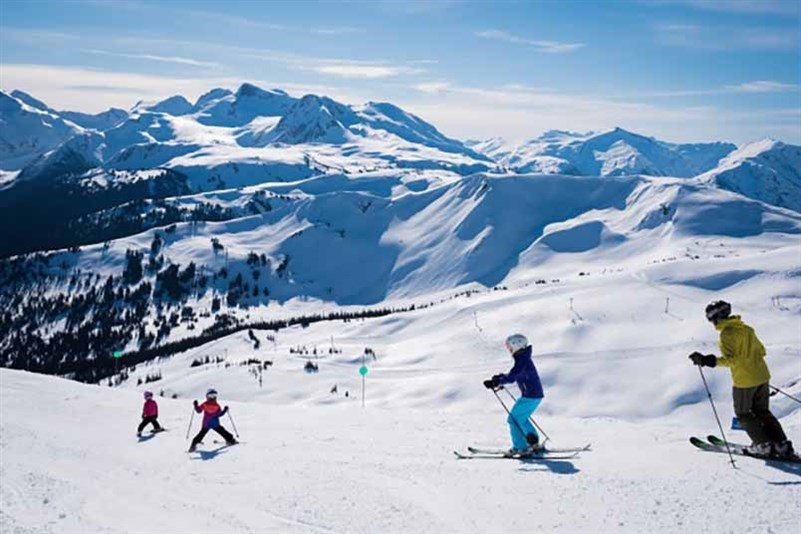 Whistler Blackcomb Family Ski Day