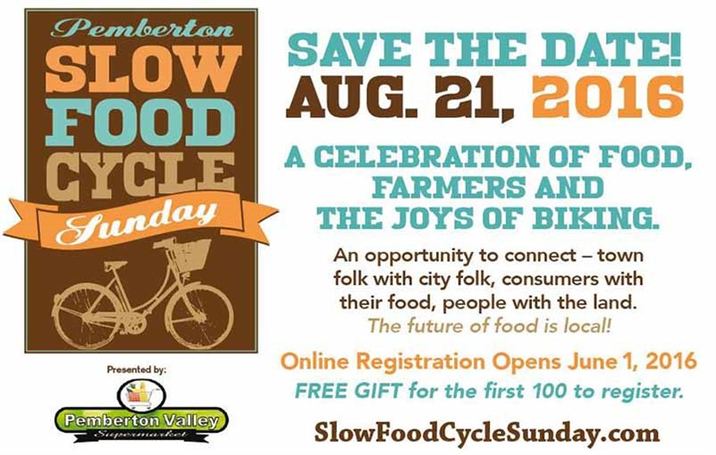 Slow Food Cycle Sunday 2016