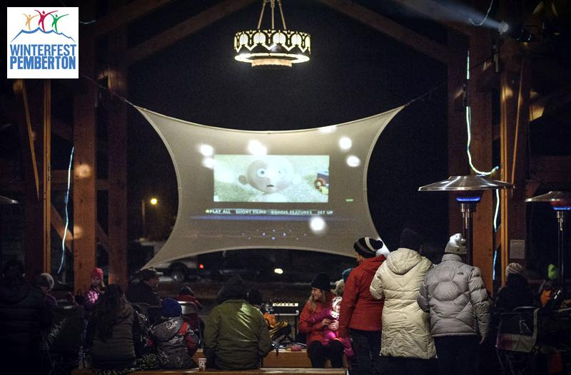Pemberton Winterfest Film Downtown Barn