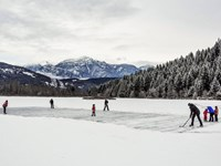Pond Hockey One Mile Lake