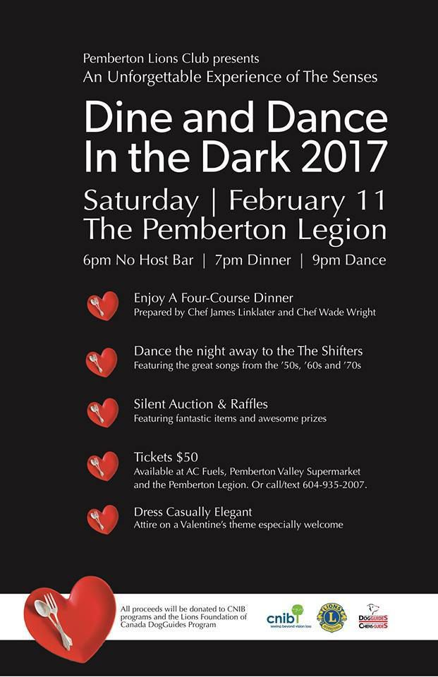 2017 Dine and Dance in the Dark