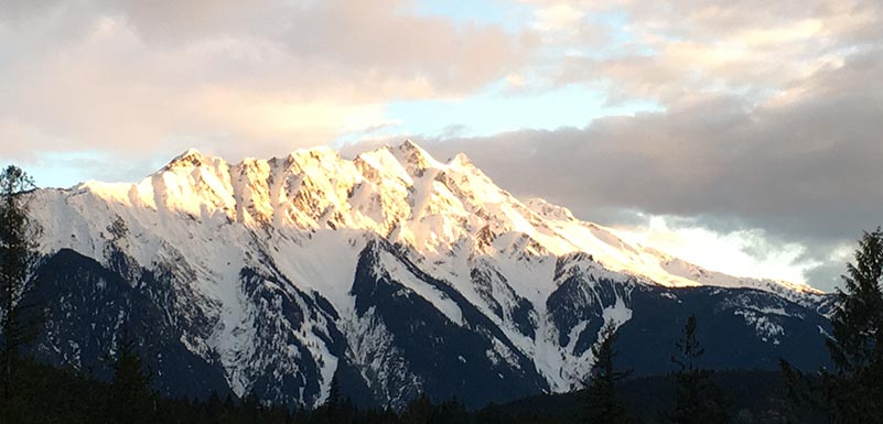 Mount Currie Spring 2017