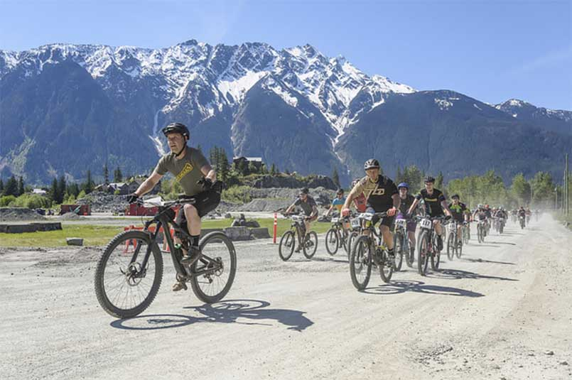 Pemby Mountain Biking - Mount Currie