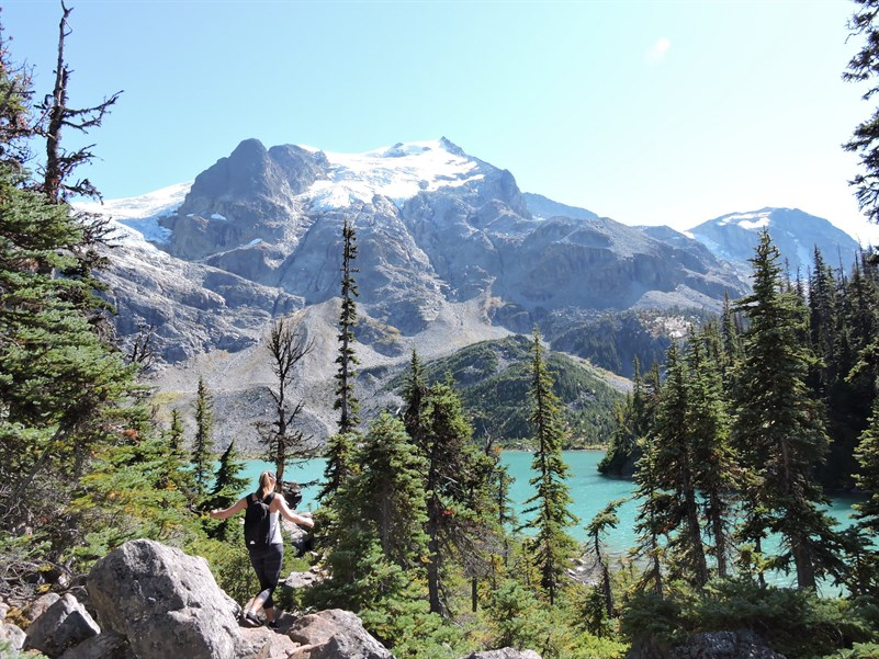 Joffre Lakes Summer 1