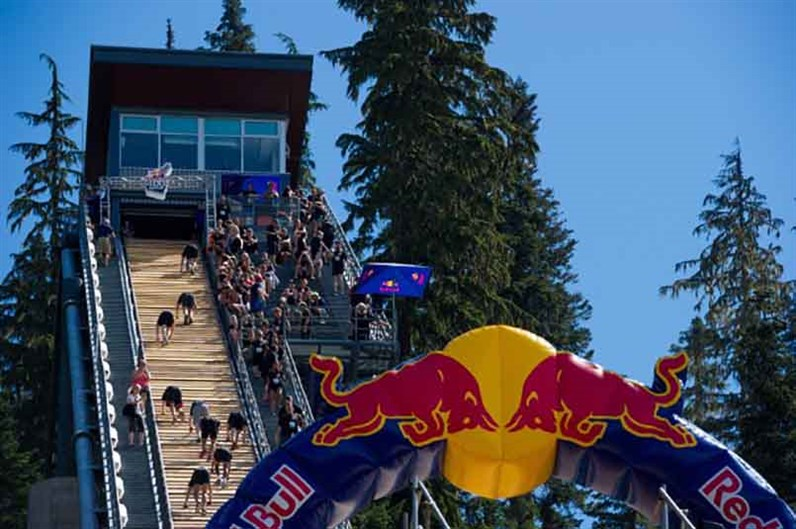 Red Bull 400 - Logo & Ramp