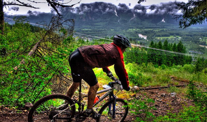 Mountain Biking Signature Shot