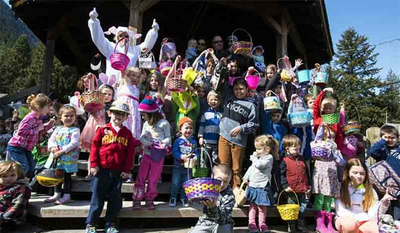 Pemberton Easter Egg hunt