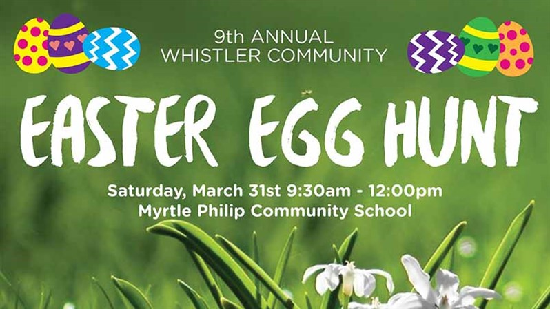 Easter Egg Hunt Whistler