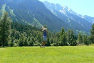 Teeing Off at Meadows at Pemberton Golf