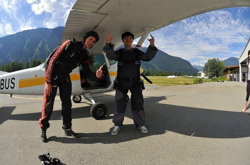 Try Skydiving in Pemberton, BC