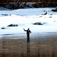 Experience Ice Fishing in Pemberton