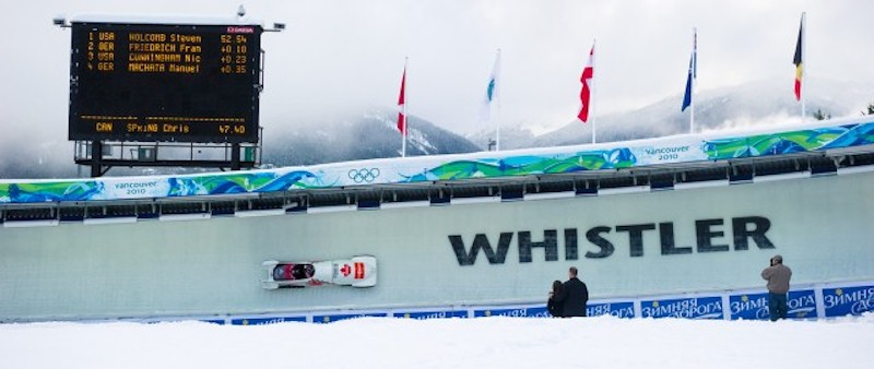 Whistler Bobsleigh Sliding Centre