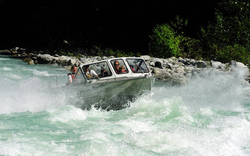 Jet Boating in Pemberton