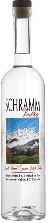 Schramm Vodka Bottle