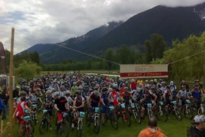 Mountain Bikers Flock to Nimby Fifty 2012