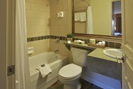 Clean, comfortable, stylish bathrooms.