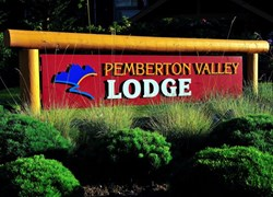 Lodge Exterior Sign - WELCOME!