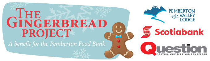 Gingerbread Project + SPONSORS
