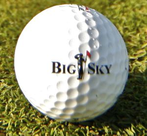 Big Sky Golf Ball